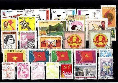 100% QualitäT Lot Briefmarken Stamps Vietnam O (933) Eine GroßE Auswahl An Farben Und Designs