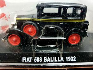 Fiat-508-Balilla-1932-Scala-1-43-Atlas-Nuovo