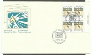 CANADA 1980 CHRISTMAS STAMPS 17C CANADA SCOTT #871 FDC SLEIGH RIDE CANADA POST