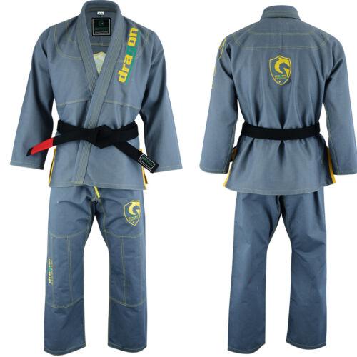 Brazilian Jiu Jitsu Gi Kimonos Grappling All color 450 GSM Dragon PROFESSIONAL
