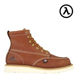 0d76453ae29 Details about THOROGOOD AMERICAN HERITAGE MOC TOE WEDGE 6