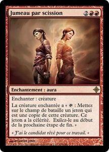 Jumeau par Scission  -  Splinter Twin -  Magic mtg -