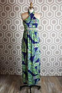 a9e72afb98cd84 NWT Trina Turk Tilly Dress 4 Ankle Length Maxi Jersey Print $328   eBay