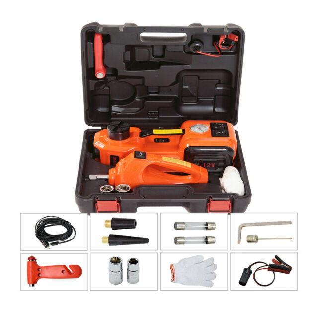 Portable Automatic 5T Car Hydraulic Floor Jack Inflatable ...