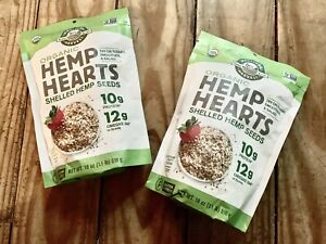 Organic Hemp Hearts Shelled Hemp Seeds, Vegan, Keto, Non ...