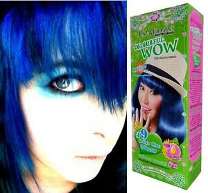 image is loading hair colour permanent hair dye cream toner master - Coloration Permanente Bleu