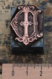 DI-ID-Monogramm-Initial-Druckstock-Klischee-Buchstabe-Galvano-Initiale-Vintage