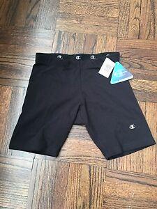 Frugal Neuf Avec Étiquettes Noir Champion Athletic Fitness Shorts Taille S-afficher Le Titre D'origine Prix Raisonnable