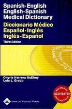 Spanish-English English-Spanish Medical Dictionary: Diccionario Médico Español-