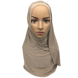 Fashion-Women-039-s-Scarf-Muslim-Hijab-Soft-Scarves-Lady-Shawls-Accessories-J