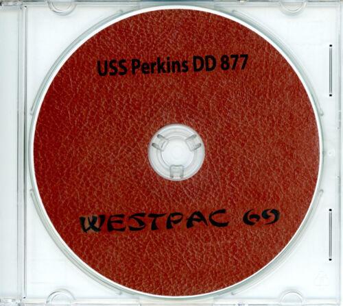 USS Perkins DD 877 1969 Westpac Cruise Book on CD