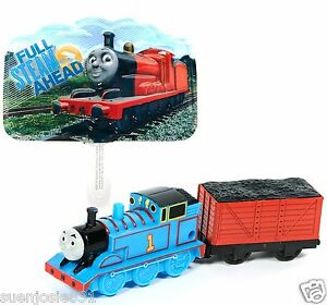 Thomas Tank Engine Cake Decoration Kit : Thomas the Train Tank Engine and Coal Car Cake Decoration ...