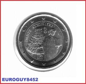 ITALIE - 2 € COM. 2015 UNC - DANTE ALIGHIERI