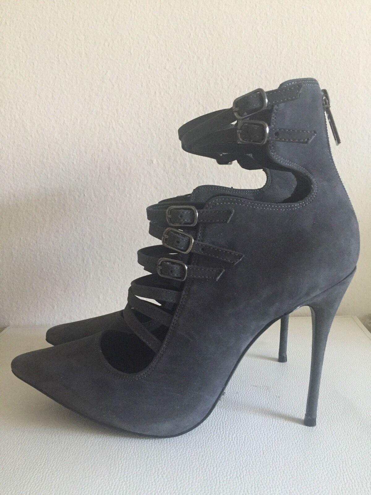Schutz Grey Heels SZ 9 - Pre-owned