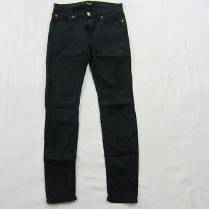 noir Jean Denim femme Sz stretch Hudson 27 Jeans qrxwrE8B