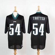 PHILADELPHIA EAGLES NFL AMERICAN FOOTBALL JERSEY SHIRT REEBOK #54 TROTTER L