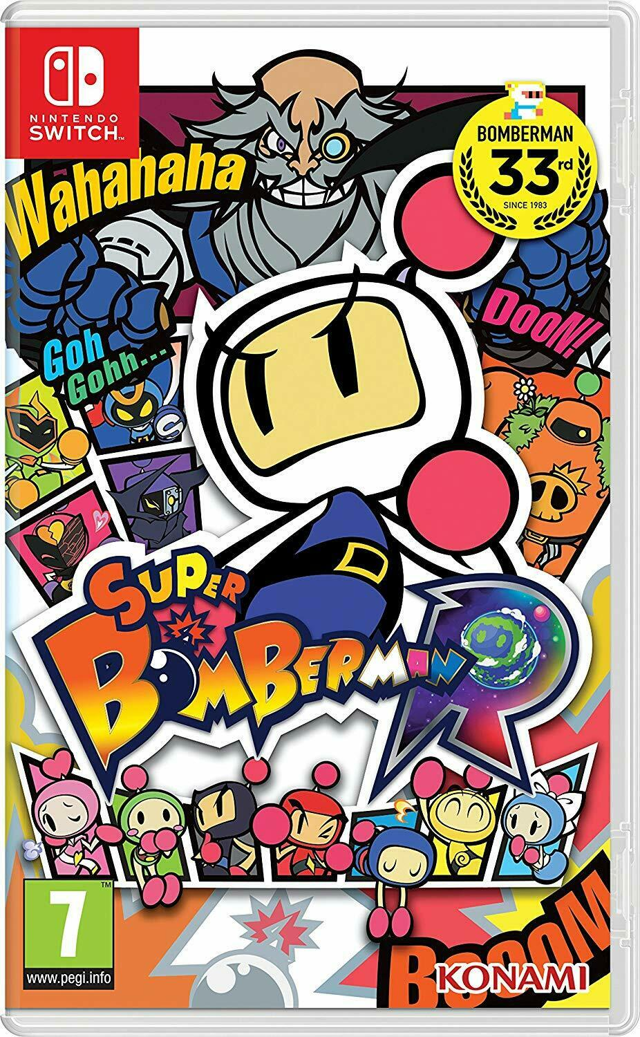 Super Bomberman R Nintendo Switch Rare Family Kids Fun Action Maze Strategy Game For Sale Online