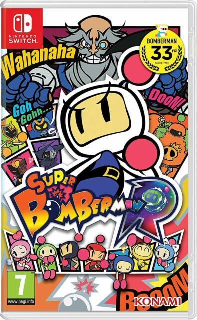 Super Bomberman R Nintendo Switch Rare Family Kids Fun Action Maze Strategy Game