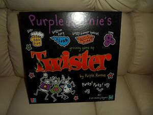 New Hasbro MB games Purple Ronnie twister game and instructions 2 or more player - <span itemprop=availableAtOrFrom>Sheffield, United Kingdom</span> - New Hasbro MB games Purple Ronnie twister game and instructions 2 or more player - Sheffield, United Kingdom