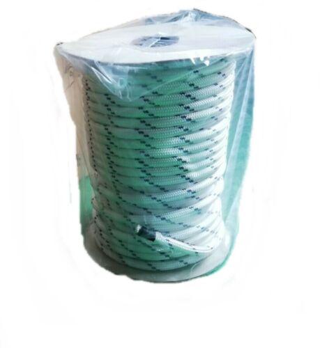 Corda Verricello Forestale scoppio Portable Winch 10mm x 50m fune tessile argano