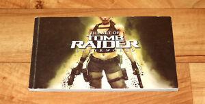 The-Art-Of-Tomb-Raider-Underworld-Very-Rare-Artbook-Art-Book-PS3-PS2-Wii