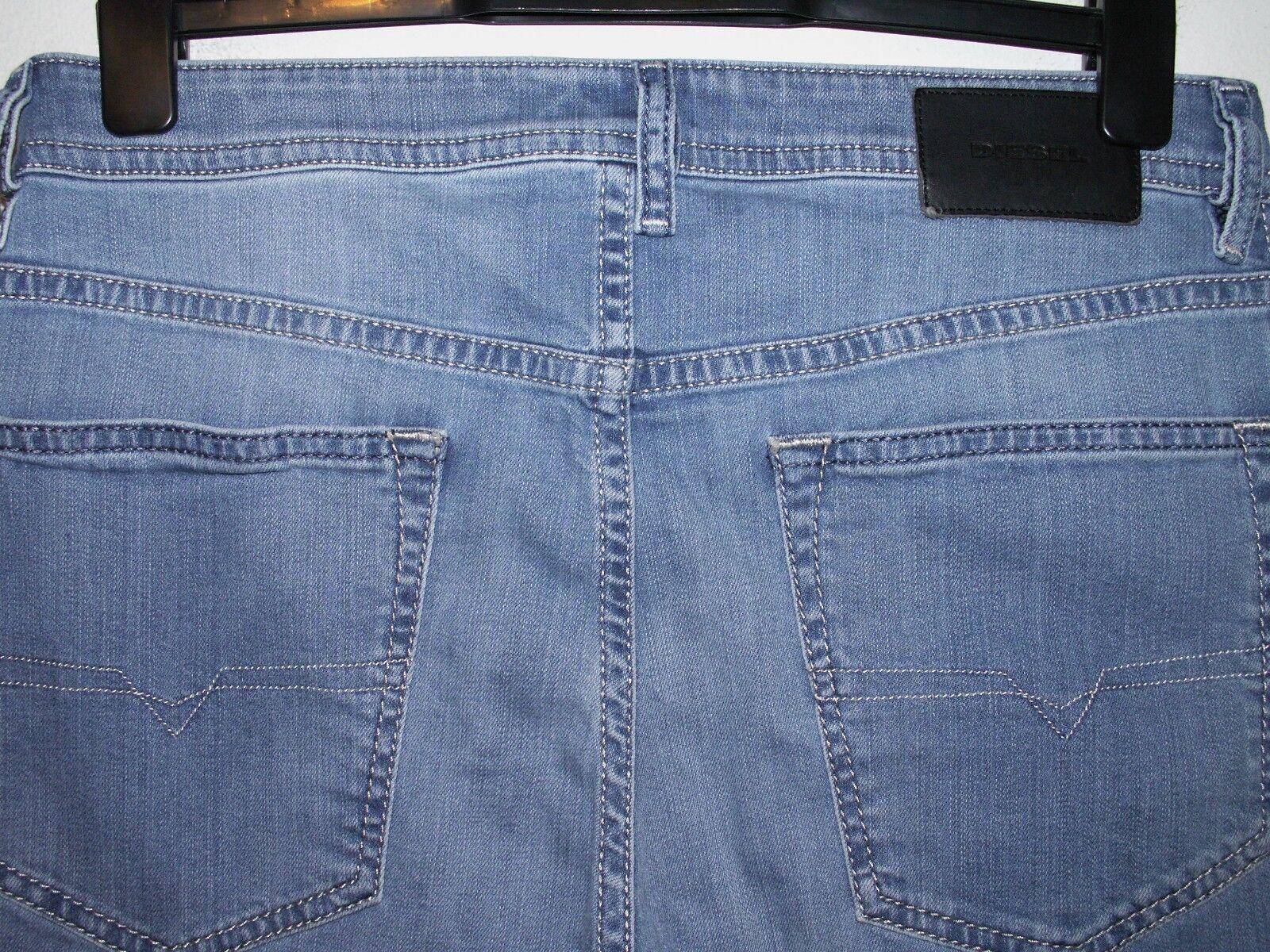 Diesel buster regular slim-tapered fit jeans wash 084QN stretch W32 L32 (a4301)