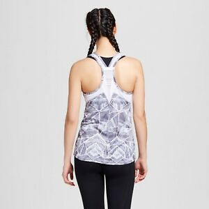ac4f86a14874bc c9 Champion Women s Run Singlet Tank Top Gray Print size 2XL