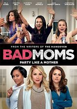 Bad Moms DVD NEW!!!FREE FIRST CLASS SHIPPING !!
