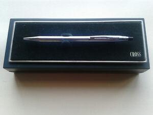 CROSS Boligrafo BALLPOINT Pen Chrome Century CLASSIC Stylo Bille Biro since 1946 NO0npdkD-08045810-359067934