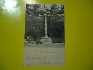 Bielle-Belle-Carte-Postale-Animee-D-039-Epoque-Neuve-1903-Monument-a-G-Garibaldi