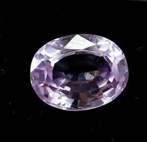 3.55 Ct Natural Pink Oval Cut Sapphire AGSL Certified Gemstone Sparkling AAA+