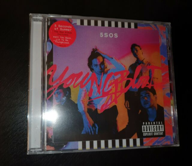 5 Seconds Of Summer - Youngblood (2018 CD) BRAND NEW