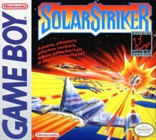 Solar Striker Nintendo Game Boy