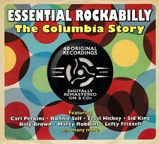 ESSENTIAL ROCKABILLY - THE COLUMBIA STORY (NEW SEALED 2CD)
