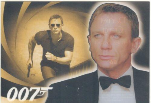 James Bond Heroes /& Villains The Men Of James Bond Chase Card B6