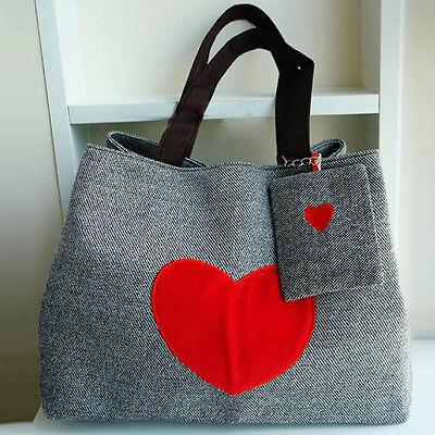 Women Vintage Retro Canvas Weekend Shoulder Bag Duffle Travel Tote Bag handbags