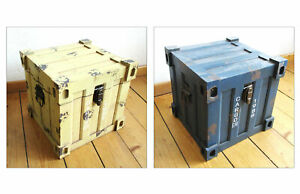 Wunderschoene-KISTE-TRUHE-H-27-5-cm-MDF-Seecontainer-Design-Aufbewahrungsbox-NEU