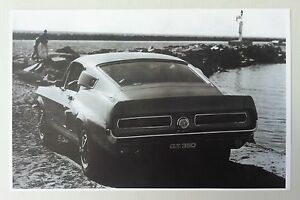 Details about 1967 Shelby GT350 Mustang Promotional Picture 11x17