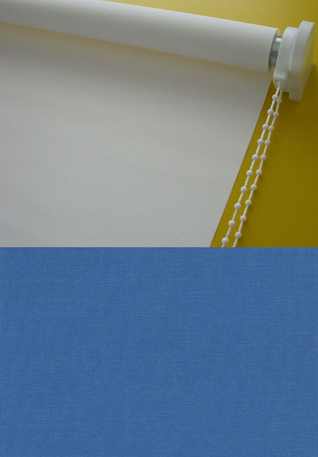 Seitenzugrollo Kettenzugrollo Fenster Rollo Blau Breite 60 - - - 220 cm Länge 180 cm   Flagship-Store  f7f336