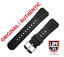 ORIGINALE-Luminox-Band-21mm-22mm-3000-3100-3200-3400-3600-3900-FP-3000-21Q-Argento miniatura 1