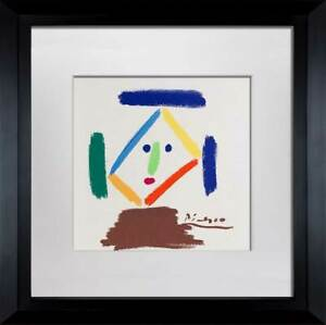Pablo-PICASSO-Lithograph-Limited-Ed-SIGNED-034-La-Monja-034-w-FRAME