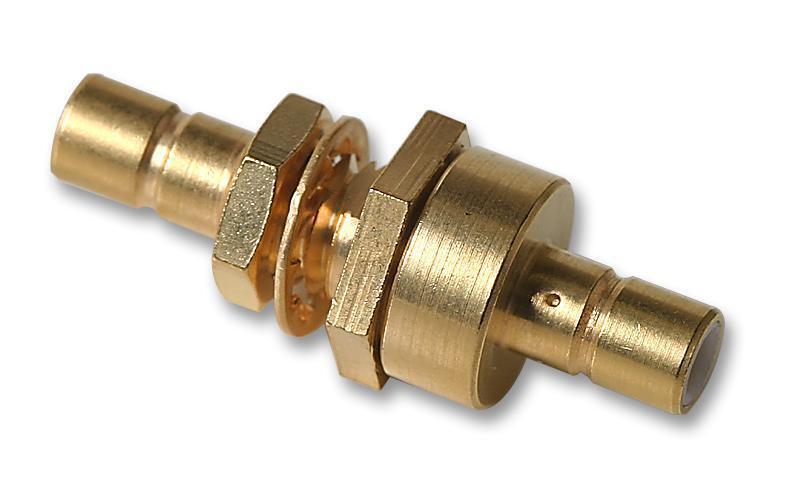 Connectors - RF/Coaxial - ADAPTOR SMB PLUG SMB PLUG 50OHM