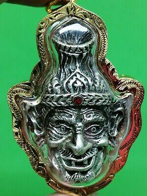 Sincere Magic Lersri Hermit Powerful Wealth Lucky Sacred Charm Thai Buddha Amulet