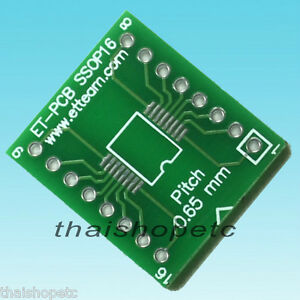 SSOP-16-SSOP16-to-DIP-16-Pin-Adapter-PCB-SMD-Convert-DIP16