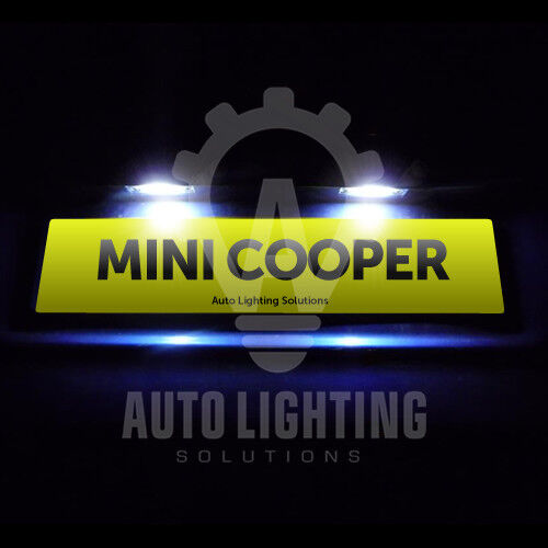 For Mini Cooper R50 R52 R53 Number / Licence Plate LED Light Bulbs Xenon White