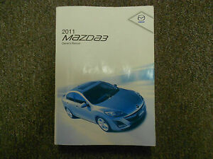 Image Is Loading 2011 Mazda 3 Mazda3 Mazda 3 Owners Manual