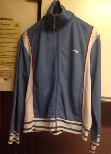 Mens Blue Lambretta Tracksuit Jacket Vintageretro Authentic size XL afficher le titre d'origine