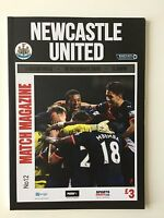 NEWCASTLE UNITED V ASTON VILLA 19.12.2015 ** MINT **