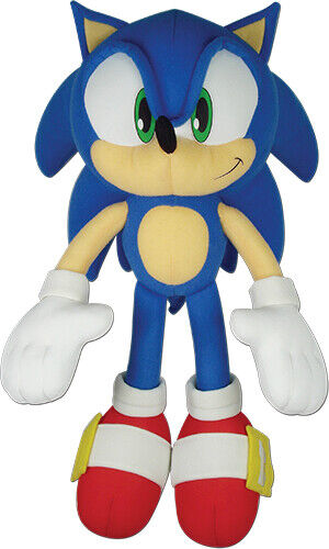 Ge Animation Sonic The Hedgehog 14 Inch Stuffed Plush Toy Ge 52749 For Sale Online Ebay