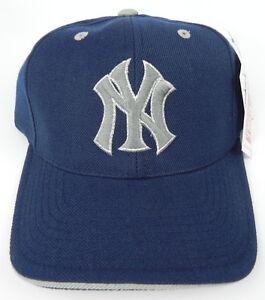 e513d6b9 NEW YORK YANKEES NAVY MLB VINTAGE AMERICAN NEEDLE SNAPBACK RETRO CAP ...